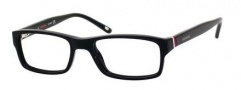 Carrera 6211 Eyeglasses Eyeglasses - 0OF7 Black / White / Red