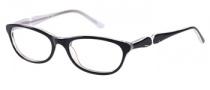 Candies C Kerri Eyeglasses Eyeglasses - BLK: Black Glitter