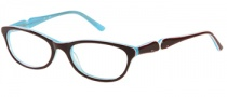 Candies C Kerri Eyeglasses Eyeglasses - BRN: Brown
