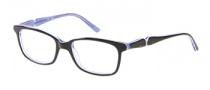 Candies C Kris Eyeglasses Eyeglasses - BLK: Black Blue