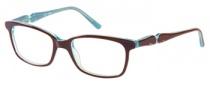 Candies C Kris Eyeglasses Eyeglasses - BRN: Brown Turquoise