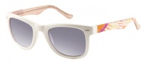 Candies COS Adison Sunglasses Sunglasses - WHT-35: White Crystal