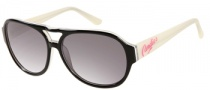 Candies COS Darcy Sunglasses Sunglasses - BLK-35: Black Crystal