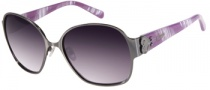 Candies COS Harper Sunglasses Sunglasses - GUN-35: Matte Gunmetal