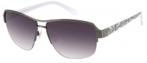 Candies COS Iris Sunglasses Sunglasses - GUN-35: Shiny Gunmetal