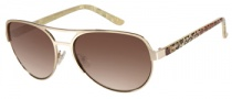 Candies COS Isabel Sunglasses Sunglasses - GLD-34: Matte Gold