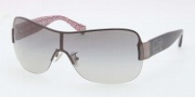 Coach HC7010 Sunglasses Sunglasses - 905711 Dark Silver / Black Grey Gradient