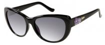 Candies COS Lily Sunglasses Sunglasses - BLK-35: Black