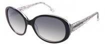 Candies COS Randi Sunglasses Sunglasses - BLK-35: Black Crystal