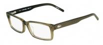Lacoste L2646 Eyeglasses Eyeglasses - 317 Khaki
