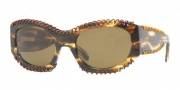 Burberry BE4120Q Sunglasses Sunglasses - 332373 Light Havana Brown