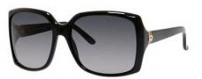 Gucci 3589/S Sunglasses Sunglasses - 0807 Black (HD Gray Gradient Lens)