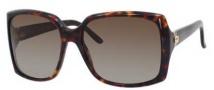 Gucci 3589/S Sunglasses Sunglasses - 0TVD Havana (LA Brown Polarized Lens)