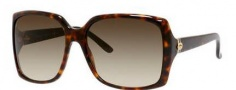 Gucci 3589/S Sunglasses Sunglasses - 0TVD Havana (DB Brown Gray Gradient Lens)