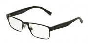 Dolce & Gabbana DG1232 Eyeglasses Eyeglasses - 01 Black / Gunmetal Demo Lens