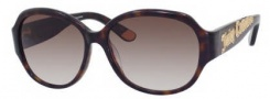 Juicy Couture Juicy 541/S Sunglasses Sunglasses - 0086 Dark Havana (Y6 Brown Gradient Lens)