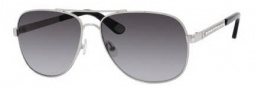 Juicy Couture Juicy 545/S Sunglasses Sunglasses - 0YB7 Silver (Y7 Gray Gradient Lens)