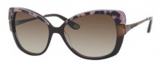 Juicy Couture Juicy 546/S Sunglasses Sunglasses - )FFE Brown Leopard (Y6 Brown Gradient Lens)