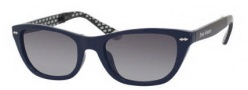 Juicy Couture Juicy 532/S Sunglasses Sunglasses - 0JRD Cobalt Black (Y7 Gray Gradient Lens)