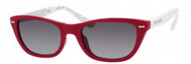 Juicy Couture Juicy 532/S Sunglasses Sunglasses - 0JRC Red White (Y7 Gray Gradient Lens)