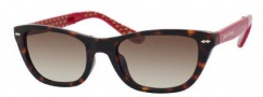 Juicy Couture Juicy 532/S Sunglasses Sunglasses - 0V08 Tortoise Red (Y6 Brown Gradient Lens)