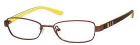 Juicy Couture Juicy 907 Eyeglasses Eyeglasses - 01Z4 Semi Matte Brown