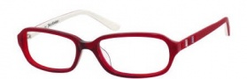 Juicy Couture Juicy 906 Eyeglasses Eyeglasses - 02B5 Red Fade