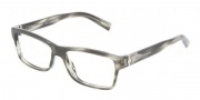 Dolce & Gabbana DG3129 Eyeglasses Eyeglasses - 2596 Striped Gray / Demo Lens
