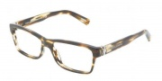 Dolce & Gabbana DG3129 Eyeglasses Eyeglasses - 2597 Striped Brown / Demo Lens