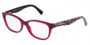 Dolce & Gabbana DG3136 Eyeglasses Eyeglasses - 2782 Opal Bordeaux