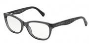 Dolce & Gabbana DG3136 Eyeglasses Eyeglasses - 1861 Transparent Gray / Demo Lens