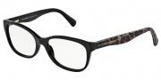 Dolce & Gabbana DG3136 Eyeglasses Eyeglasses - 2525 Black / Demo Lens