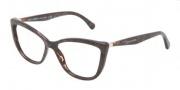 Dolce & Gabbana DG3138 Eyeglasses Eyeglasses - 2589 Gauze Brown / Demo Lens