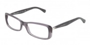 Dolce & Gabbana DG3139 Eyeglasses Eyeglasses - 1861 Transparent Gray / Demo Lens