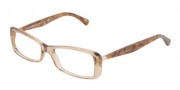 Dolce & Gabbana DG3139 Eyeglasses Eyeglasses - 2588 Light Yellow / Demo Lens