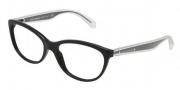 Dolce & Gabbana DG3141 Eyeglasses Eyeglasses - 501 Black / Demo Lens