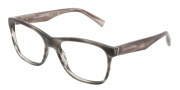 Dolce & Gabbana DG3144 Eyeglasses Eyeglasses - 2674 Matte Striped Grey / Demo Lens