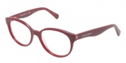Dolce & Gabbana DG3146P Eyeglasses Eyeglasses - 2669 Bordeaux On All Overe Plum