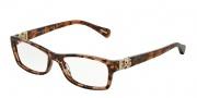 Dolce & Gabbana DG3147P Eyeglasses Eyeglasses - 2550 Brown Marble / Demo Lens