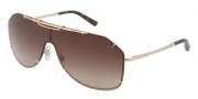 Dolce & Gabbana DG2112 Sunglasses Sunglasses - 034-13 Gold / Brown Gradient