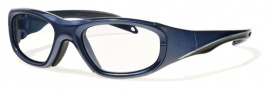 Liberty Sport Morpheus l Eyeglasses Eyeglasses - Shiny Navy Blue / Shiny Black Stripe #1