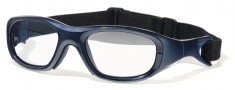 Liberty Sport Morpheus III Eyeglasses Eyeglasses - Shiny Navy Blue / Silver Stripe #1