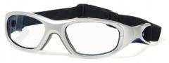 Liberty Sport Morpheus III Eyeglasses Eyeglasses - Satin Silver / Satin Navy Blue Stripe #3