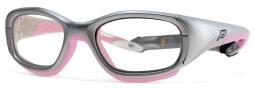 Liberty Sport Slam Eyeglasses Eyeglasses - Satin Silver / Pink #423