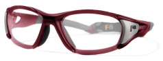Liberty Sport Velocity Eyeglasses Eyeglasses - Satin Red / Satin Gunmetal #701
