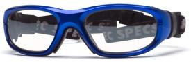 Liberty Sport Rec Specs Maxx-21 Eyeglasses Eyeglasses - Bright Blue / Black #2