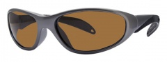 Liberty Sport Biker Sunglasses Sunglasses - Grey Carbon W/ Ultimate Outdoor Lens #8