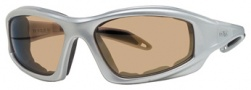 Liberty Sport Torque I Sunglasses Sunglasses - Shiny Silver w/ Brown Lens #1