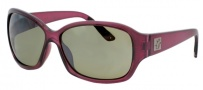Liberty Sport Bayou Sunglasses Sunglasses - Translucent Plum w/ Ultimate PLay Lens #654