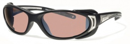 Liberty Sport Chopper 2 Sunglasses Sunglasses - Matte Black / Shiny Silver w/ Ultimate Driver Lens #205